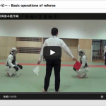 basic operation of nippon kempo refferee